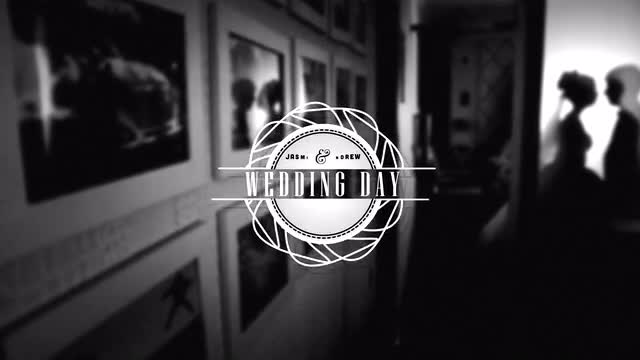 Wedding Ornamental Titles: After Effects Templates