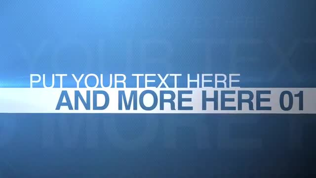 Split Type: After Effects Templates
