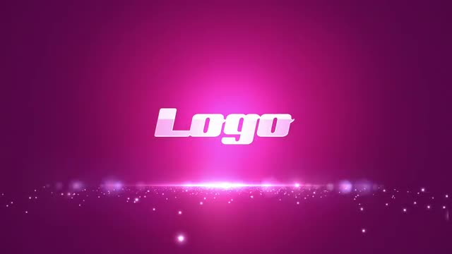Pink Logo: After Effects Templates